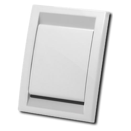 пневморозетка Deco, белая | встроенные пылесосы centralvac